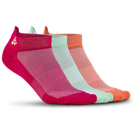 Craft Greatness - Chaussettes - 3-Pack rose/turquoise